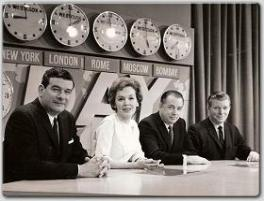 Maureen was one of the Today Show anchors--here shown with Frank Blair, Hugh Downs, and Jack Lescoulie.