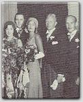 One of the earliest pics I have found of John Farrow, shown here with Lila Lee at a wedding c.1928